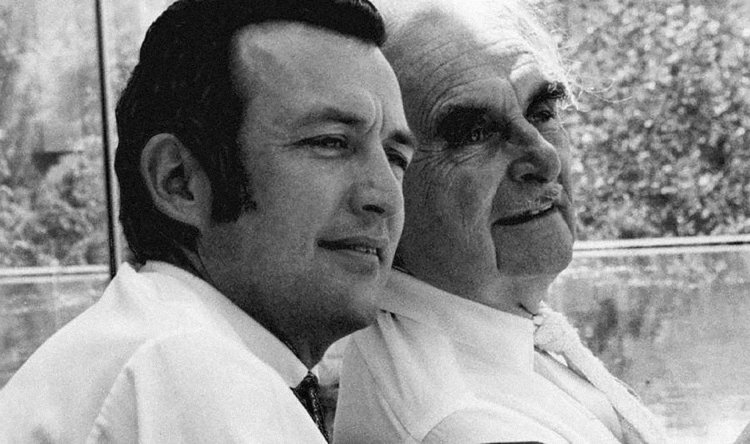 Dion und Richard Neutra.