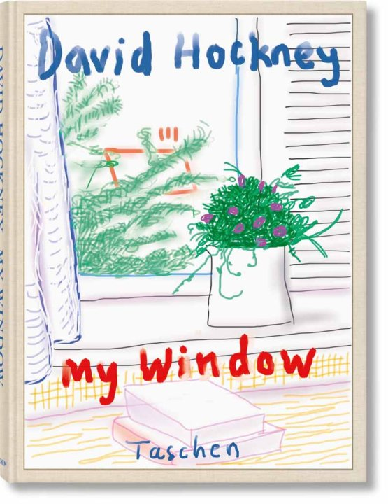 Kunstbuch My Window von David Hockney. Taschen